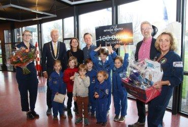 Space Expo 100000ste bezoeker