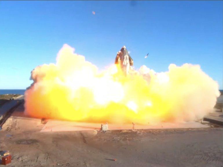 Starship explosie